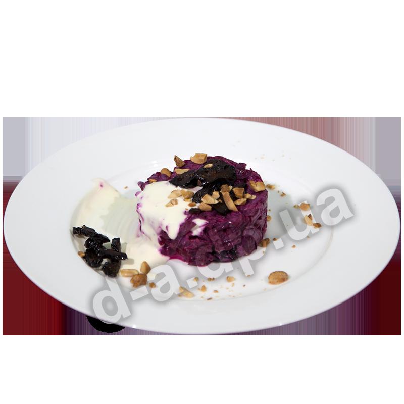 Салат «Свекла с черносливом и арахисом»